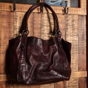 FRYE Leather Tote/Shoulder Bag